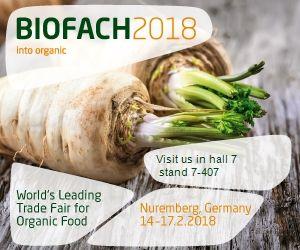 Biofach 2018 – Norimberga